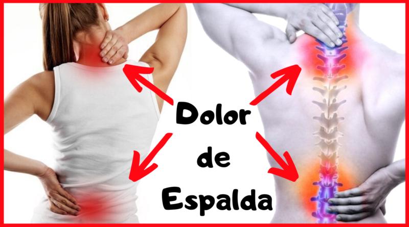 Si padeces de dolor de espalda aquí te mostraremos las principales razones